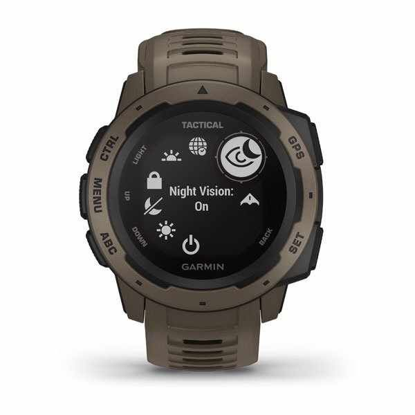 Garmin Instinct Tactical Coyote Tan
