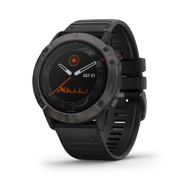 fenix6X Solar Grey/Black