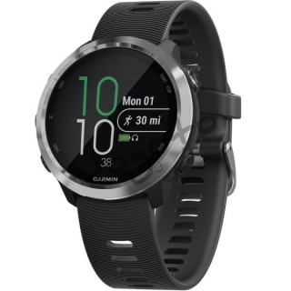 Garmin Forerunner 645, Steel, Black band
